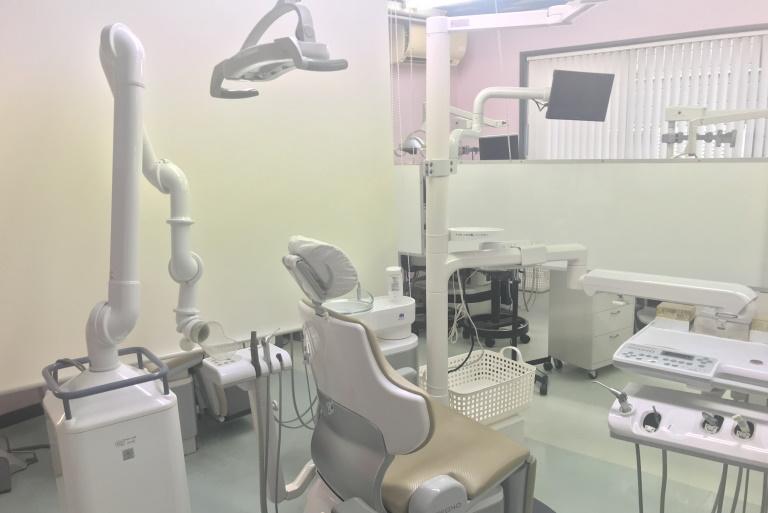 かしわぎ歯科医院診察室